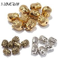 20pcs/lot Metal Charms for Jewelry Making Sliver Golden Tibetan Silver Buddha He