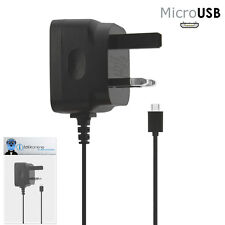 3 Pin 1000 mAh UK MicroUSB Mains Charger for HTC Legend