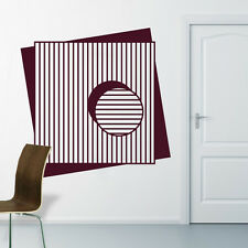Abstract 5 Design Decal Wall Sticker 58cm x 58cm