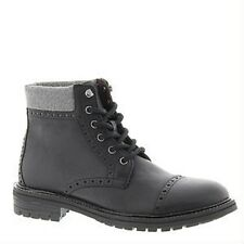 TOMMY HILFIGER HERBIEBLMLL HERBIE Mn's (M) Black Synthetic Casual Boots