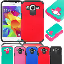 Hybrid Protective Case Hard Cover For Samsung Galaxy Core Prime Prevail LTE