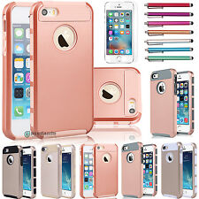 New Hybrid Dual Layer Armor Defender Protective Case Cover for iPhone 5 5s