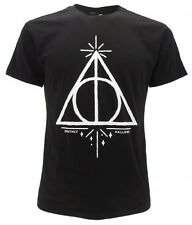 T-shirt Harry Potter simbolo i 'Doni della Morte' Originale Deathly Hallows