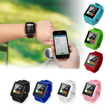 2x Bluetooth Smart Wrist Watch Phone Mate For Android IOS Samsung iPhone LG