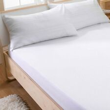 Waterproof Terry Towel Mattress Protector Fitted Sheet Bed Cover