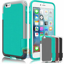 Hybrid Impact Rugged Rubber Matte Slim Protective Case Cover For iPhone 6 6