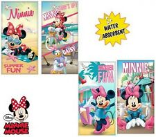 infantil con Licencia Oficial Minnie Mouse agua Absorbente