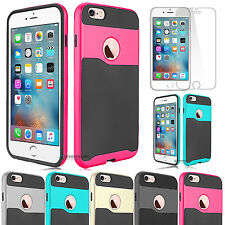 Ultra Thin Hybrid Armor Defender Case Cover for Apple iPhone 6 6s Plus 4.7""