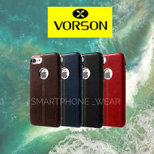 Vorson ®*LEXZA SERIES*LEATHER SHELL Back Cover Case For Apple iPhone 7