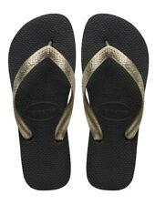 ORIGINALI HAVAIANAS TOP TIRAS, Ciabatta infradito Black Golden