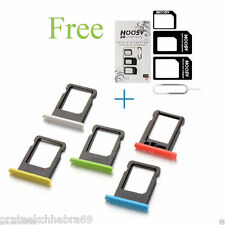 For iPhone 5C Micro SIM Card Sim Slot Tray HOLDER(Free Sim adapter worth 99 )