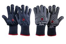 Gorilla Armour BBQ Oven Cooking Gloves (Pair) Thermal Heat Resistant Mitts