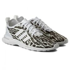 adidas originals ZX Flux adv womens girls ladies smooth print running trainers