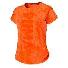 PUMA Active Training Women's Dancer Burnout T-Shirt Training Tank Female Nuovo