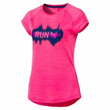 PUMA Running Women's T-Shirt Running Tee Female Nuovo