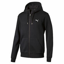 PUMA Style Men's Full Zip Fleece Hoodie Uomo Felpa Basico Nuovo