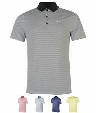 OFFERTA Nike Victory Mini Stripe Polo Shirt Mens Deep Night
