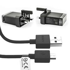 Sony UK Mains EP-880 Wall Charger And EP-803 Micro USB Cable - Black