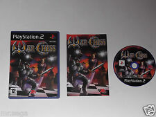 WAR CHESS for PLAYSTATION 2 'VERY RARE & HARD TO FIND'