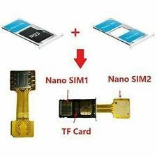 Hybrid Double Dual SIM Card Micro SD Adapter For XIAOMI REDMI NOTE 3/s 4 PRO Max
