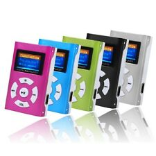 USB Mini MP3 Player LCD Screen Support 32GB Micro SD Card Slick stylish design
