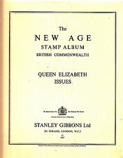 NEW AGE Stamp Album BRITISH COMMONWEALTH supplements for 1966 & 1967