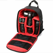 Waterproof Camera Rucksack For DSLR SLR Canon EOS Nikon Backpack Bag Lens Case