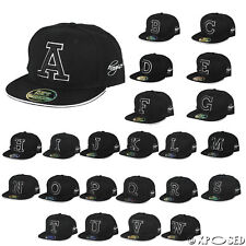 New Mens Unisex A to Z Letters Logo Baseball Cap Adjustable Snapback Hip Hop Hat