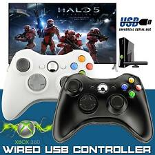 2017 USB Wired Xbox 360 Controller Game Pad For Microsoft Xbox 360 PC Windows UK
