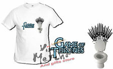 t-shirt GAME OF THRONES THE IRON THRONE joke WC tshirt t-shirt troni bambino xxl