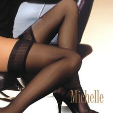 """Ladies Womens  HOLD UPS """"Michelle"""" Lace Top Gatta"""