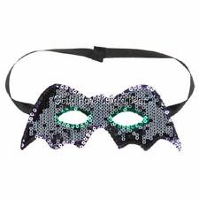 Build-a-Bear Halloween Black Sequin Mask Teddy Accessory NWT