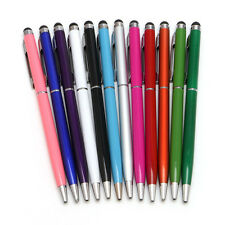 2 in 1 Universal Touch Screen Ballpoint Stylus Pen For iPhone iPad Smartphone PC