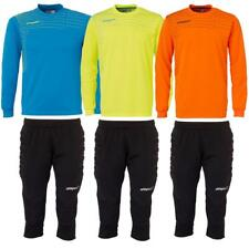 Uhlsport Match Junior Kinder Fußball Torwart Goalkeeper Set Torhüter Trikot Hose