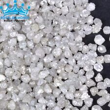 5 crts+ 100% Natural Loose Rough Diamonds Raw Real White 3.00mm Rare BEST DEAL