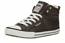 British Knights ROCO UNISEX HIGH-TOP-SCHUH SNEAKER - BRAUN 41 - B38-3702