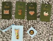 Harrods-Pooh-Marie curie-Tinkerbell-Pineapple Dance-Disney Club Lapel Stud