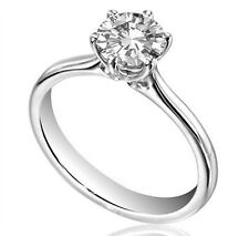 Engagement Ring Diamond Unique 1ct Solitaire 9ct Gold UK Hallmarked