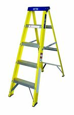Lyte Trade Glassfibre / Fibreglass Builders Swingback Step Ladders 3-12 Tread