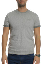 Superdry Camiseta T-Shirt Hombre OL Low Scooter Monumento Gris
