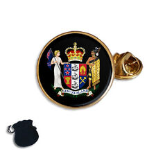 New Zealand Coat Of Arms Enamel Lapel Pin Badge Gift