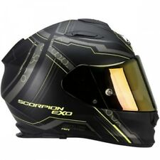 Casco moto Integral Scorpion Exo-510 Aire Sincronizador Negro mate