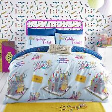 Kids Ronald Dahl Duvet Cover Single Charlie & Chocolate Factory Bedding
