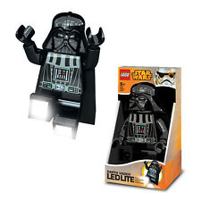 Star Wars Lego LED Light Torcia Darth Vader Modellabile Mini Figurina