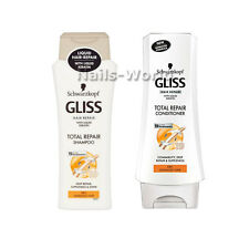 Schwarzkopf GLISS KUR Total Repair SHAMPOO Conditioner Keratin Dry Damaged Hair