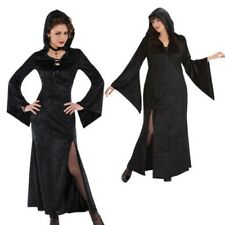 Damen Christys Dress Up Zauberin Magic Hexe Halloween Kostüm Outfit