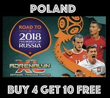 POLAND ROAD TO WORLD CUP RUSSIA 2018 PANINI ADRENALYN XL FOOTBALL CARDS