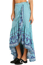 NEW Sexy Blue Gypsy Style Print Sarong Beach Dress