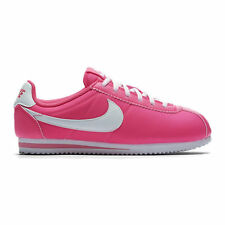 NIKE CORTEZ NYLON GS HYPER PINK/WHITE GIRLS WOMENS TRAINERS SIZE 3 4 5.5 OCEANIA