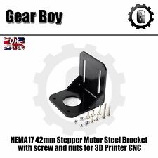 NEMA17 42mm Stepper Motor Steel Bracket  with screw and nuts for 3D Printer CNC